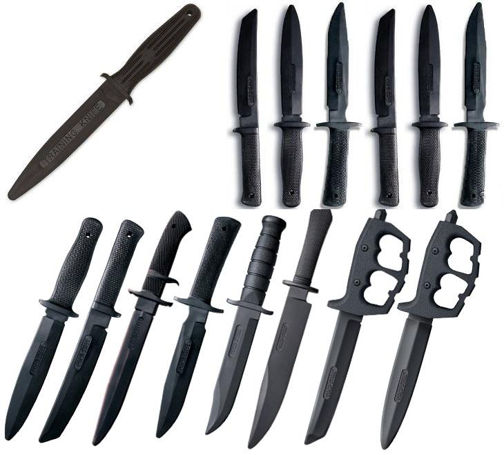 çeşitli antrenman bıçakları