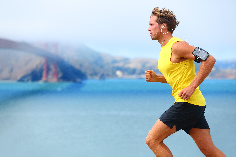 Koşarak zayıflayan adam