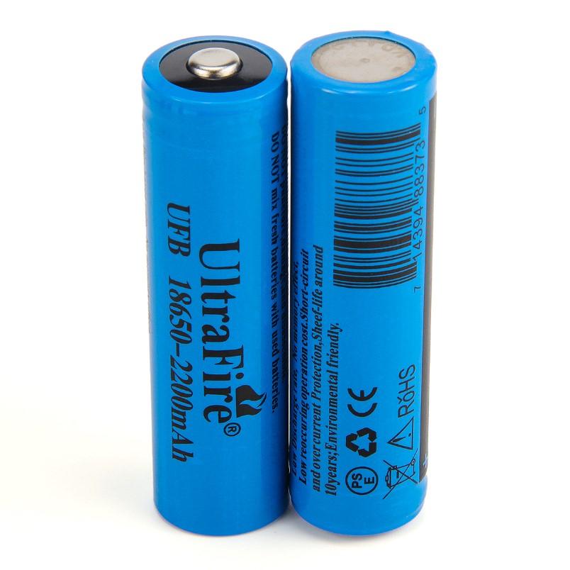 18650 Li-Ion düğmeli, çipli veya kafalı tabir edilen pil.