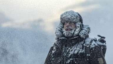 hipotermiden etkilenmiş adam